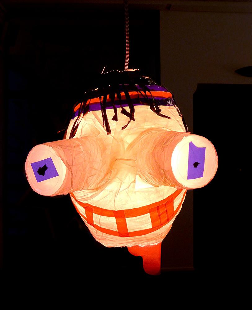 Tape-art – Verückte Lampen mit Klebeband gebastelt