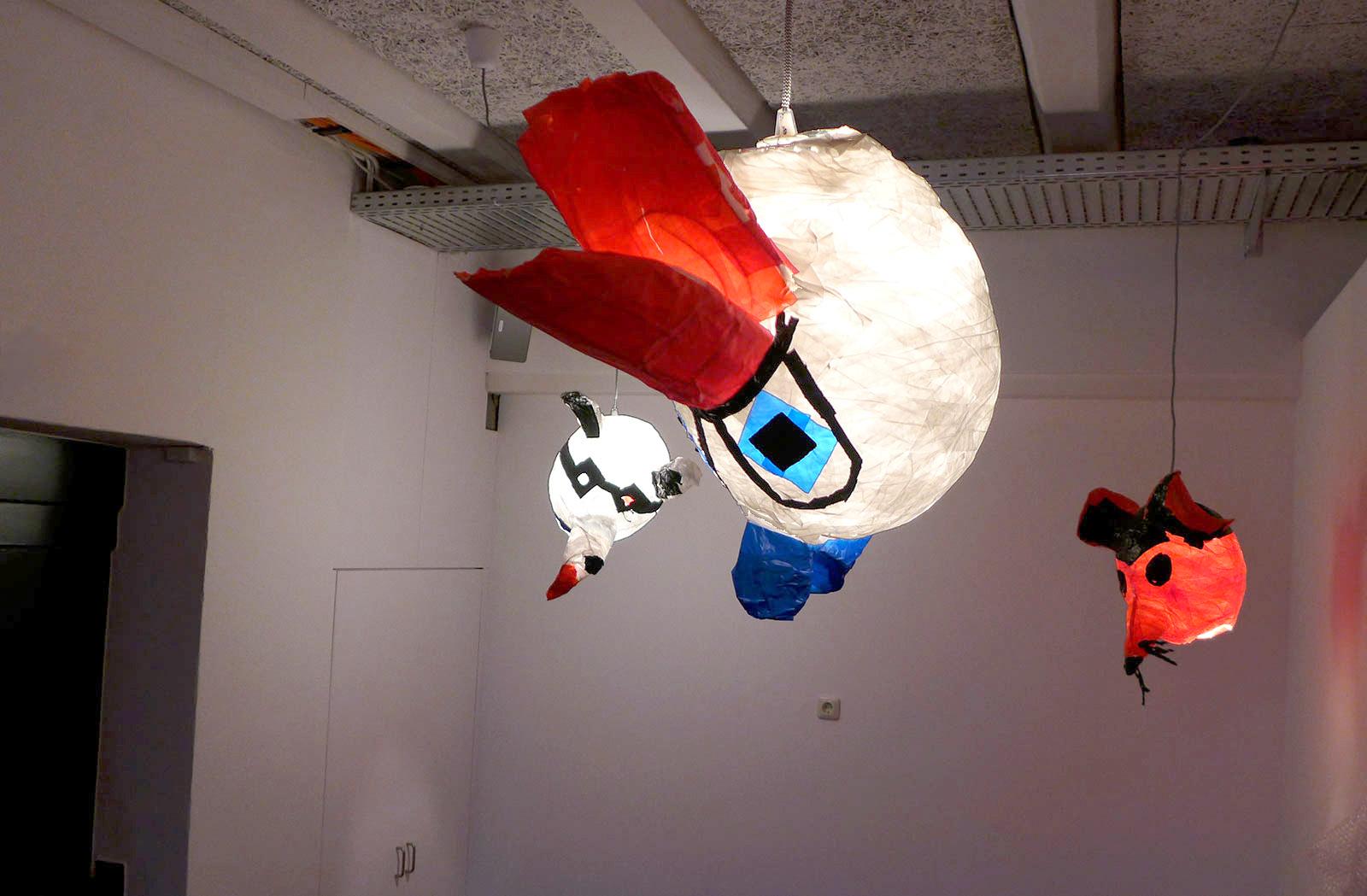 Tapeart - Mit Klebekunst Lampen design