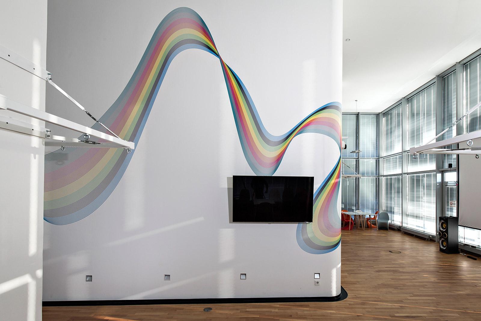 Office Wandgestaltung in Hamburg
