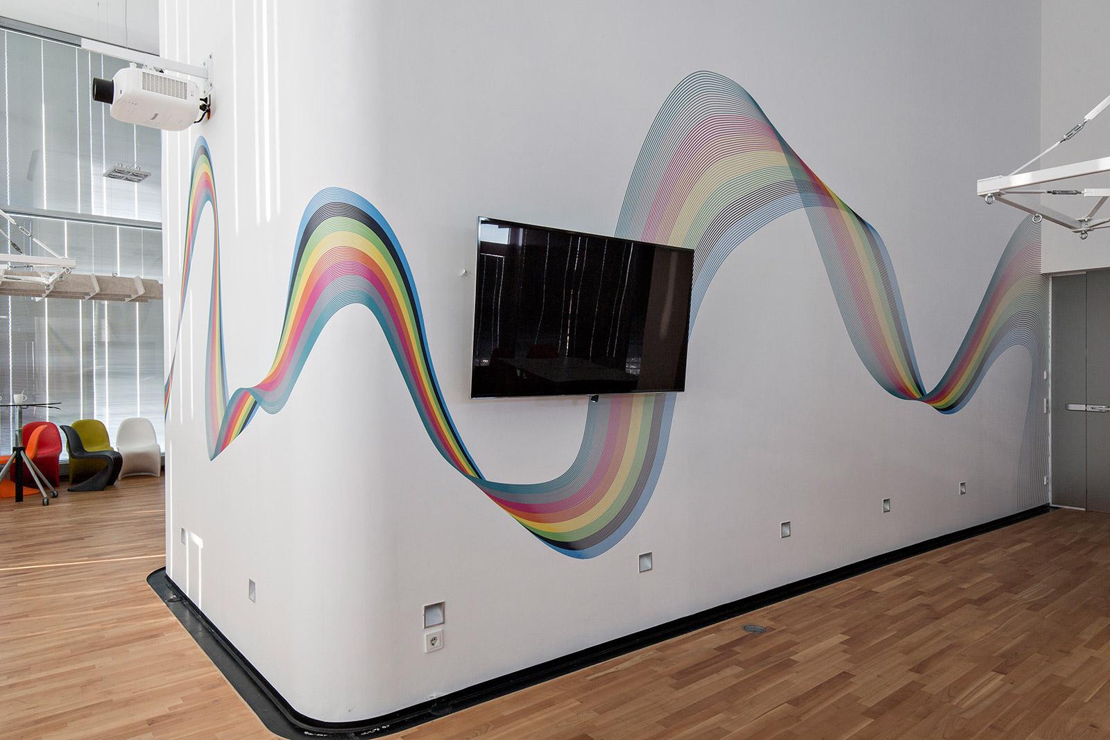 Farbwelle walldesign