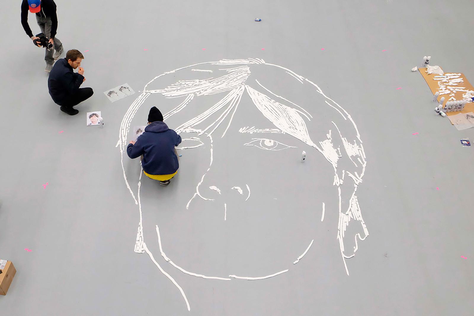 Jogi Löw Portrait making of
